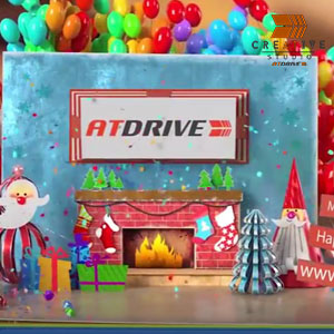 Merry Christmas & Happy New Year Wishes – AtDrive