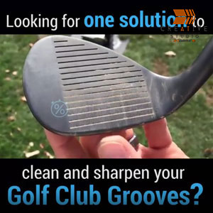 Product Video – Golf Club Grooving Sharpening Tool
