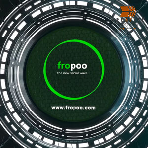Logo Intro – fropoo 'the new social wave'