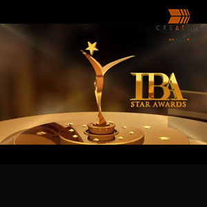 IBA Star Awards 3D Branding Video Logo Intro