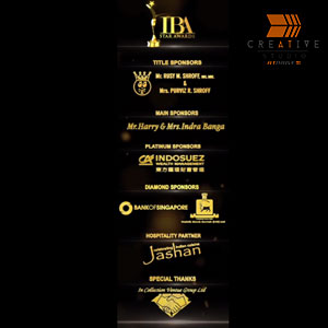 IBA Star Awards Sponser Branding Loop Video