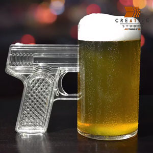 Pistol Grip Beer Mug Kickstarter Style Amazon Product Listing Video