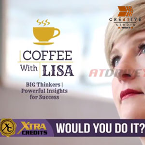 Coffee with Lisa Talk Show Promo Intro Video