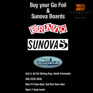 Go A Foil & Sunova Surf boards Product Promotion Video