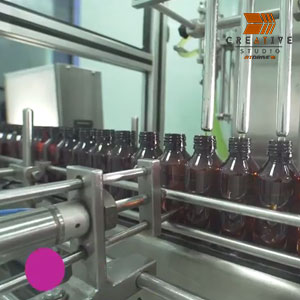 Gracure Pharma Syrup Production & Process Video