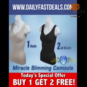 Miracle Slimming Camisole Product Promo Video