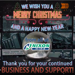Nixon Hire Christmas & New Year 2018