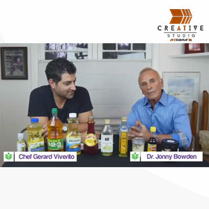 DrJonny Bowden asks Chef Gerard Viverito to bust cooking oil myths