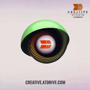 AtDrive Creative Studios - 3D Logo Intro