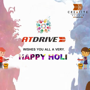 AtDrive Wishes You A Very Happy Holi