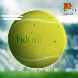 Fidgrit Sports Logo Intro