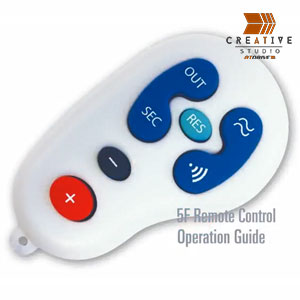 5F Remote Control Product Detail & Expaliner Video