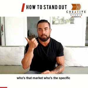 Chris Dufey How to stand out Instagram Ad Video