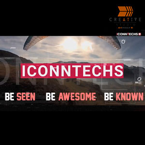 Iconntechs wingsuit flying paragliding+parachuting kitesurfing Adventure Sports Video
