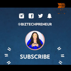 The Biz Techpreneur Kristen Smith Youtube Series Intro & Outro