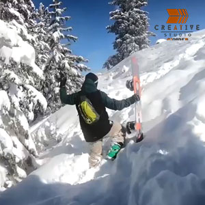 Iconntech Snowbaording Insta Promo Video