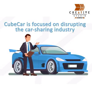 CubeCar P2P Cube Token Explainer Promo Video