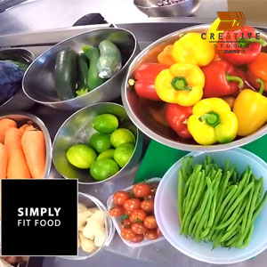 Simply Fit Food Kitchen Video