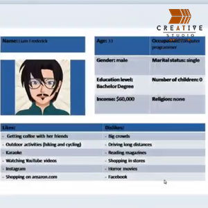 How to create a customer profile card